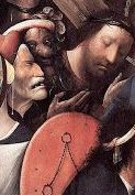 Bosch, Carrying the Cross, detail